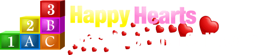 Happy Hearts Preschool and Childcare Logo